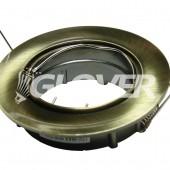 Spotlámpa keret billenő íves réz (GBL-230-2)