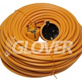5m-es narancssárga hosszabbító 3x1mm2 (VTECH-5.00)