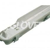 Por és páramentes lámpatest 1*58W EVG PC (SY6158D)
