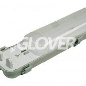 Por és páramentes lámpatest 2*36W LED PS (SY6236D)