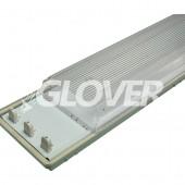 Por és páramentes lámpatest 3*36W EVG PS (SY6336)