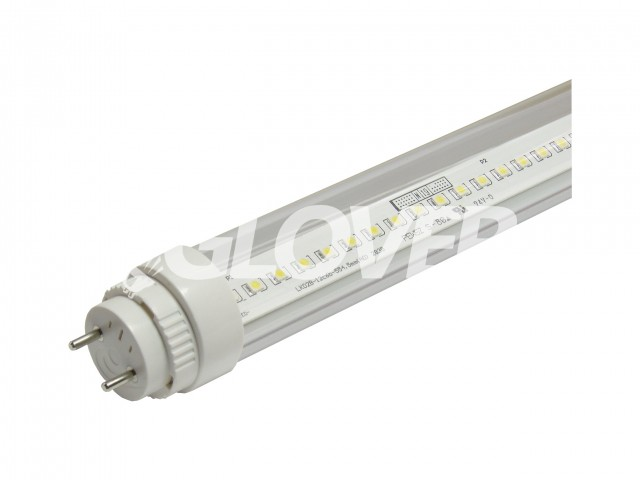 LED tube light T8 9W Clear 4000-4500K +15% turnable