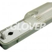 Por és páramentes lámpatest 1*36W EVG PS (SY6136B)