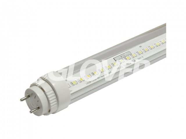 LED fénycső T8 9W Clear 4000-4500K +15% forgatható