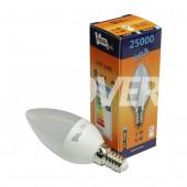 LED Gyertya 3W-os E14-es Warm Opál (LGYF2-E14-3)