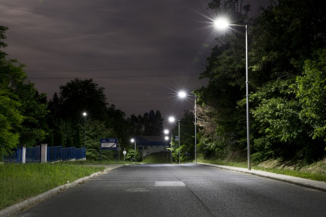 BITEP industrial park public lights