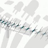Yagi 91 elemes UHF antenna (4591)