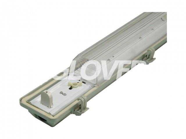 Por és páramentes lámpatest 1*18W LED PS (SY6118)