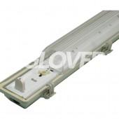 Por és páramentes lámpatest 1*36W EVG PS (SY6136)