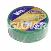 Isolating tape 10m x 18mm green (G10 GREEN)