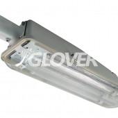 Közvilágítási lámpatest 2G11 SMC ház +2x18W cső (2G11-2X18)
