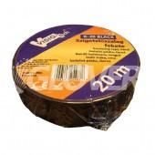 Isolating tape 20m x 18mm black (G20 BLACK)