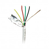 ALARM CABLE 4*0,22 COPPER WHITE 100m