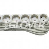 6-os elosztó 5 m-es kábel (GLO 6-5/WH)