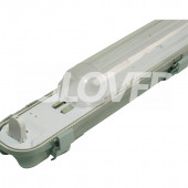 Por és páramentes lámpatest 1*58W LED PS (SY6158D)