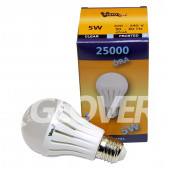 Bulb 5W E27 Frosted Warm (GLB-E27-5)