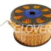 Rope light lamp 230V yellow 90m