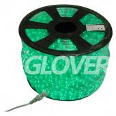 Rope light LED VT2/Z green 100m