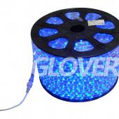 Rope light LED VT2/K blue 100m