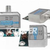 Amplifier pCB DVBT for planar reflector antenna