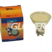 Spot 3W GU10 Warm (GL-LED-GU10-3)