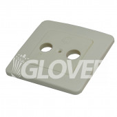 Antenna cover for wall outlet TV/Radio